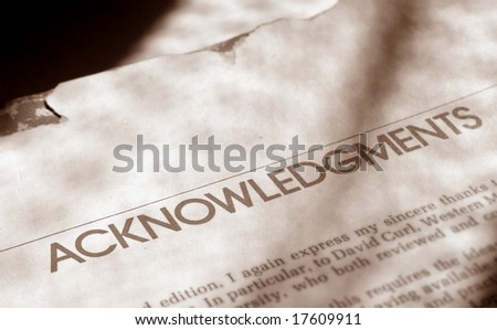 Close up of old book - stock photo