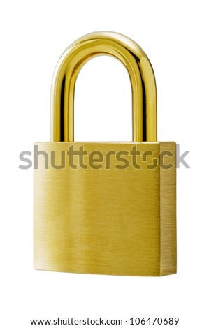 Close up of padlock.