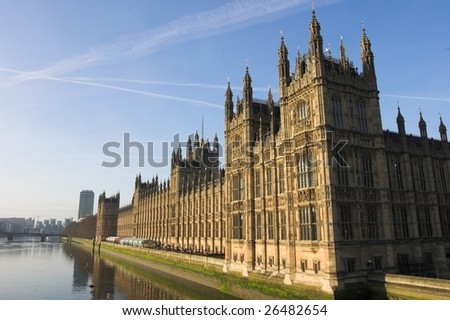 Close up of parliament