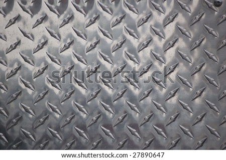 close up of pattern on  metal surface / abstract background / material