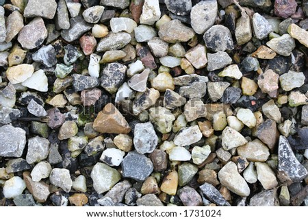 close-up of pebbles background