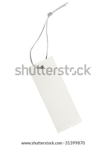 close up of post it reminders on white background with clipping path - stock photo