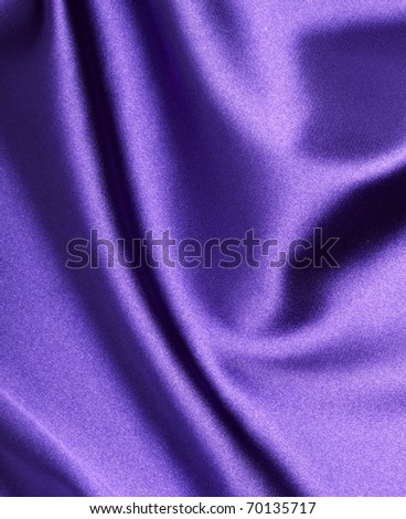 close up of purple silk textured cloth background - stock photo