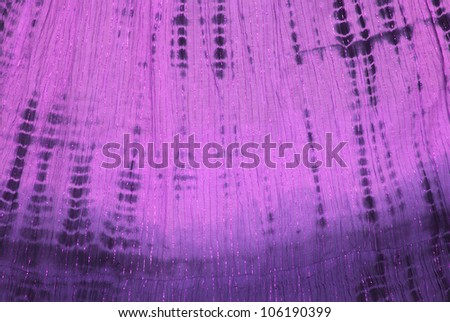 Close up of purple tie dye pattern - stock photo