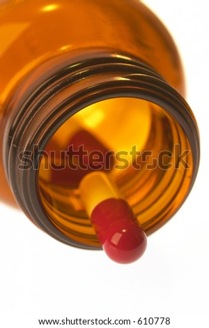 Close-up of Red Tablets