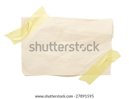 close up of reminders on white background . each one is in cameras full resolution - stock photo