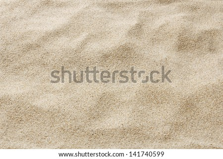 close up of sea beach sand  or Desert sand for texture and background - stock photo