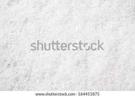 Close-up of snow flakes. Winter background.