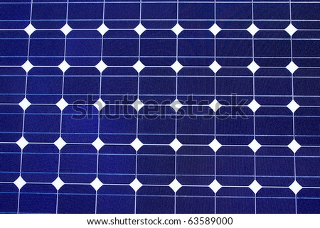 Close up of Solar Cell Texture