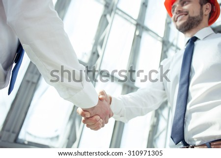 Successful Architects stock images similar to id 3580826 - a handsome architect with a