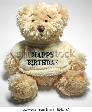 Close-up of teddy bear - stock photo