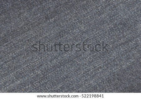 Close-up of texture jeans fabric cloth textile background