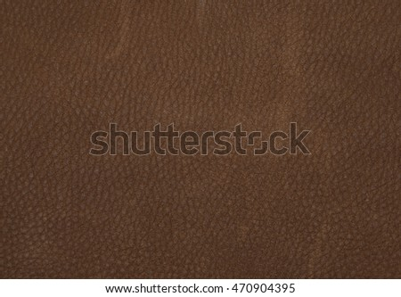 Close up of texture of a brown imitation leather