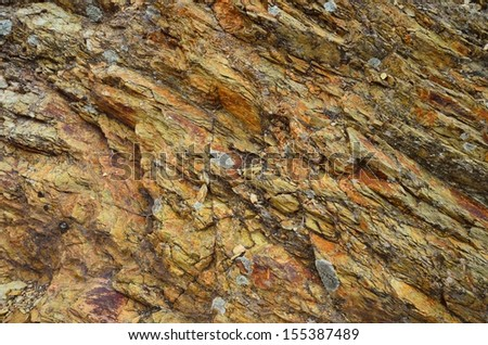 Close-up of texture on natural stone. Background - stock photo