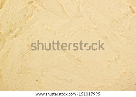 Close-up of the cake dough - stock photo