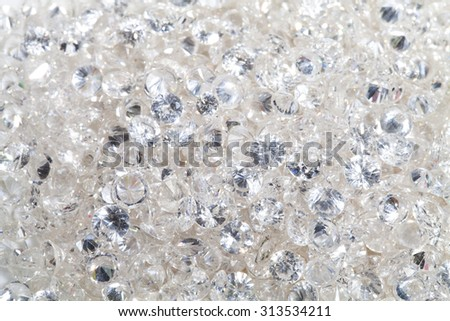 close up of the diamond texture background - stock photo