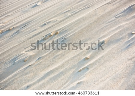 Close up of the dune of Pyla, Europe's highest dune - stock photo