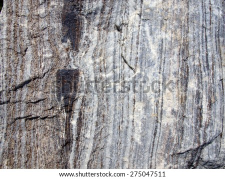 close up of the texture of stone - stock photo