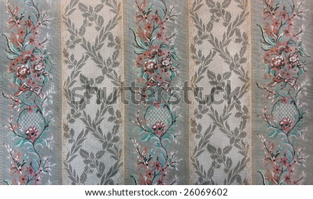 Close-up of vintage fabric - stock photo