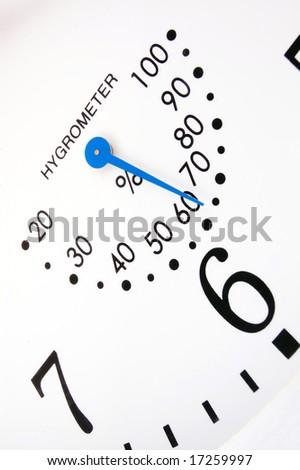 Close Up of Wall Clock - stock photo