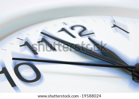 Close Up of Wall Clock