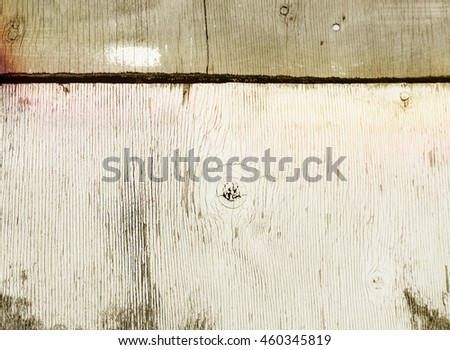 close up of wall made of rustic weathered barn wood background planks