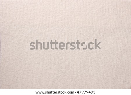Close up of white colored wool textile  in Hi-Res - stock photo