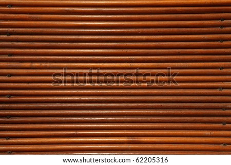 Close up of wood wall for background - stock photo