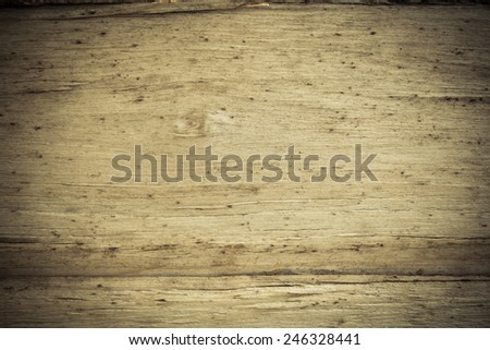 Close up of wooden grain.