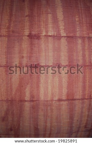 close up of wooden wine barrel - stock photo