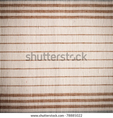close up on a cloth pattern texture - stock photo