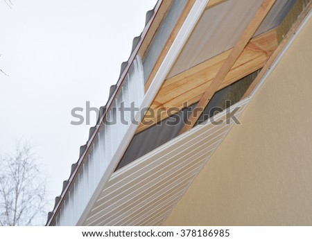 List of synonyms and antonyms of the word soffit construction for Soffit and fascia calculator