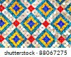 Close up picture of a tiles floor background. - stock photo