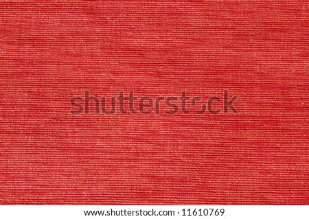 close-up picture of bright orange velvet (background, texture) - stock photo