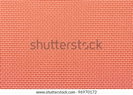 Close-up pink fabric textile texture for background - stock photo