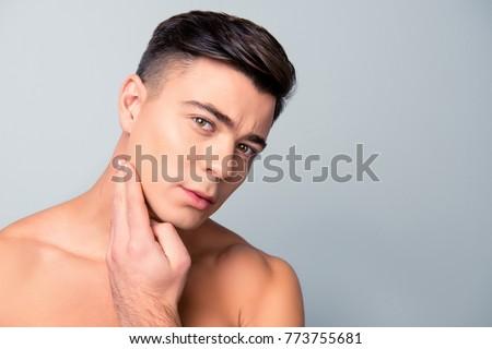 Free closeup shaved