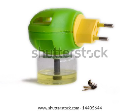 close up repellent and his sacrifice - stock photo