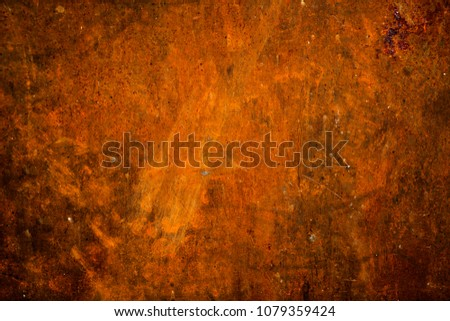 Close Up Rustic Steel Plate Surface Weathered Texture And Stained Grunge Metal
