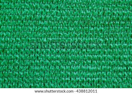 Close up Shading Net protect sun shade - stock photo