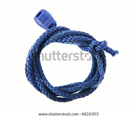 Close up shot of a rope