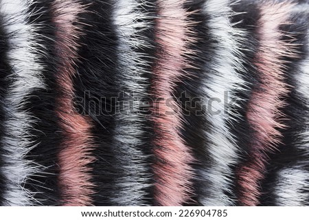 close up shot of abstract painted  fur background - stock photo