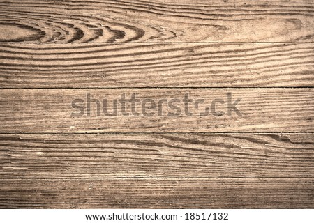 Close up shot of an old wood texture. - stock photo