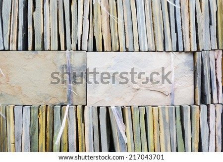 close up shot of brick floor texture Background - stock photo