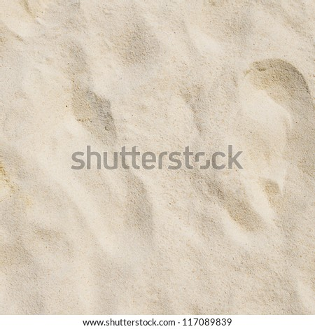 Close up shot of coral sand - stock photo