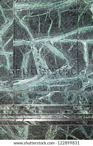 Close up shot of green marble tiles