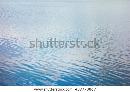 close up shot of lake water as backgound