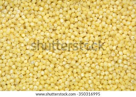 close up shot of oat background - stock photo