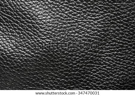 Close up shot of seamless leather taxture - stock photo