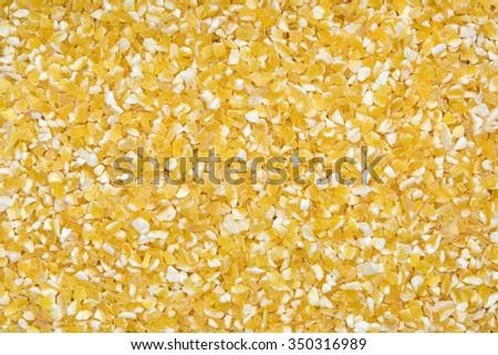 close up shot of split oat background - stock photo