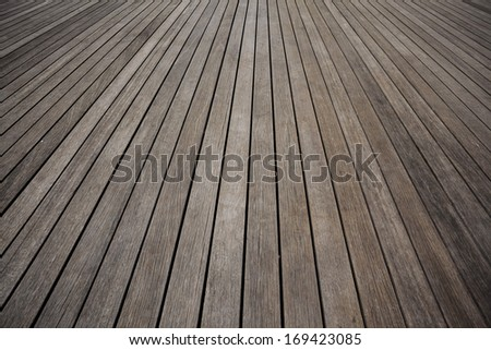 Close up shot of Wooden floor pattern.